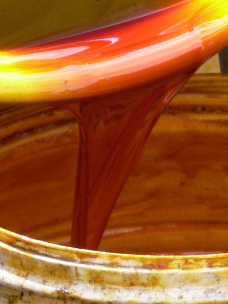 Análisis del aceite de palma.