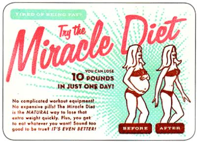 Antes de ponerse a dieta…